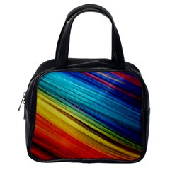 Rainbow Classic Handbag (one Side) by NSGLOBALDESIGNS2