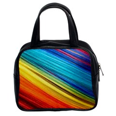 Rainbow Classic Handbag (two Sides) by NSGLOBALDESIGNS2
