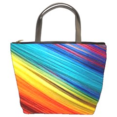 Rainbow Bucket Bag by NSGLOBALDESIGNS2