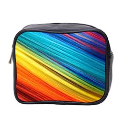 Rainbow Mini Toiletries Bag (two Sides) by NSGLOBALDESIGNS2