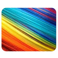 Rainbow Double Sided Flano Blanket (medium)  by NSGLOBALDESIGNS2