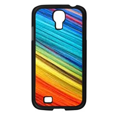 Rainbow Samsung Galaxy S4 I9500/ I9505 Case (black) by NSGLOBALDESIGNS2