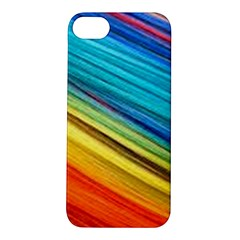 Rainbow Apple Iphone 5s/ Se Hardshell Case by NSGLOBALDESIGNS2
