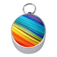 Rainbow Mini Silver Compasses by NSGLOBALDESIGNS2