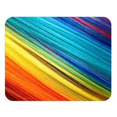 Rainbow Double Sided Flano Blanket (large)  by NSGLOBALDESIGNS2