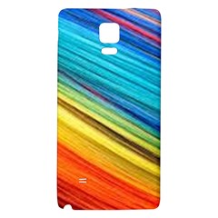 Rainbow Samsung Note 4 Hardshell Back Case by NSGLOBALDESIGNS2