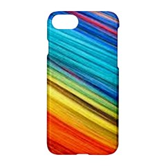 Rainbow Apple Iphone 7 Hardshell Case by NSGLOBALDESIGNS2