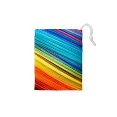 Rainbow Drawstring Pouch (xs) by NSGLOBALDESIGNS2