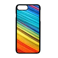 Rainbow Apple Iphone 7 Plus Seamless Case (black) by NSGLOBALDESIGNS2