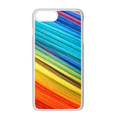 Rainbow Apple Iphone 7 Plus Seamless Case (white) by NSGLOBALDESIGNS2
