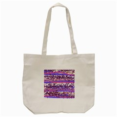 Abstract Pastel Pink Blue Tote Bag (cream) by snowwhitegirl