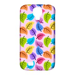 Colorful Leaves Samsung Galaxy S4 Classic Hardshell Case (pc+silicone) by snowwhitegirl