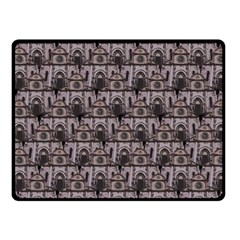 Gothic Church Pattern Fleece Blanket (small) by snowwhitegirl