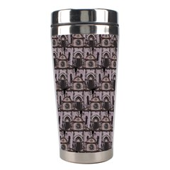 Gothic Church Pattern Stainless Steel Travel Tumblers by snowwhitegirl