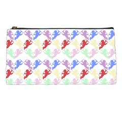 Colorful Cherubs White Pencil Cases by snowwhitegirl