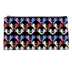 Colorful Cherubs Black Pencil Cases by snowwhitegirl