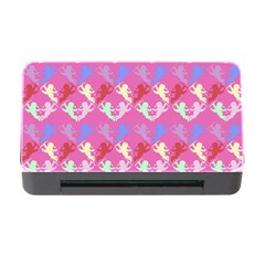 Colorful Cherubs Pink Memory Card Reader With Cf by snowwhitegirl