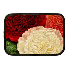 Vintage Carnation Flowers Netbook Case (medium) by snowwhitegirl