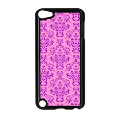 Victorian Paisley Pink Apple Ipod Touch 5 Case (black) by snowwhitegirl
