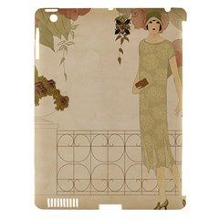 Flapper Lady Vintage Apple Ipad 3/4 Hardshell Case (compatible With Smart Cover) by snowwhitegirl