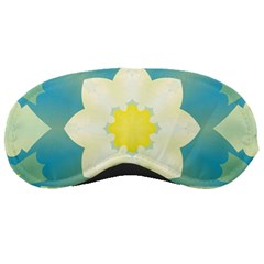 Pattern Flower Abstract Pastel Sleeping Masks