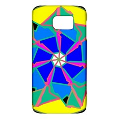 Mandala Wheel Pattern Ornament Samsung Galaxy S6 Hardshell Case