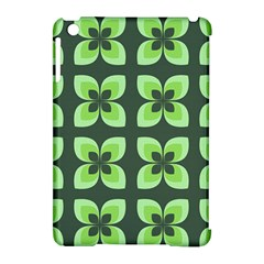 Retro Flower Green Apple Ipad Mini Hardshell Case (compatible With Smart Cover)