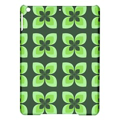 Retro Flower Green Ipad Air Hardshell Cases by snowwhitegirl