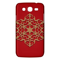 Ornament Flower Pattern Jewelry Samsung Galaxy Mega 5 8 I9152 Hardshell Case