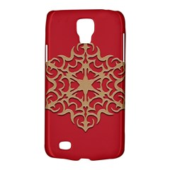 Ornament Flower Pattern Jewelry Samsung Galaxy S4 Active (i9295) Hardshell Case