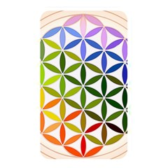 Mandala Rainbow Colorful Reiki Memory Card Reader (rectangular)