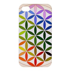 Mandala Rainbow Colorful Reiki Apple Iphone 4/4s Hardshell Case by Simbadda