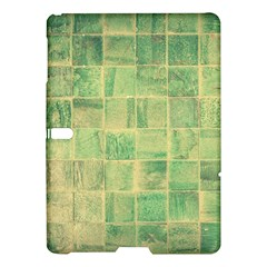Abstract Green Tile Samsung Galaxy Tab S (10 5 ) Hardshell Case  by snowwhitegirl
