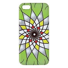 Mandala Model Figure Graphics Apple Iphone 5 Premium Hardshell Case