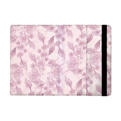 Pink Floral Ipad Mini 2 Flip Cases by snowwhitegirl