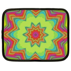 Abstract Art Abstract Background Pattern Netbook Case (xl)