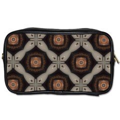 Texture Background Pattern Toiletries Bag (two Sides) by Simbadda