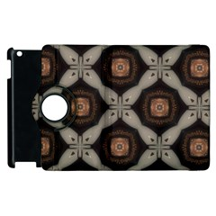 Texture Background Pattern Apple Ipad 2 Flip 360 Case by Simbadda
