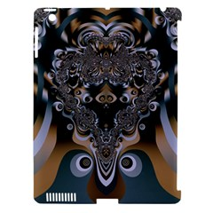 Art Pattern Fractal Art Artwork Design Apple Ipad 3/4 Hardshell Case (compatible With Smart Cover) by Simbadda