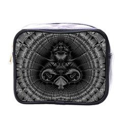 Art Artwork Fractal Digital Art Mini Toiletries Bag (one Side) by Simbadda