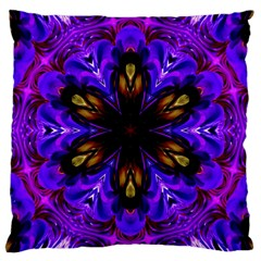 Abstract Art Abstract Background Large Cushion Case (two Sides)