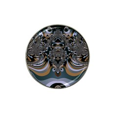 Fractal Art Artwork Design Hat Clip Ball Marker (10 Pack)