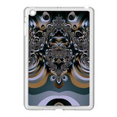 Fractal Art Artwork Design Apple Ipad Mini Case (white) by Simbadda