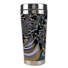 Fractal Art Artwork Design Stainless Steel Travel Tumblers by Simbadda