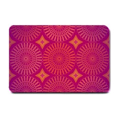 Flower Wheel Chakra Mandala Modern Small Doormat