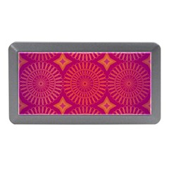 Flower Wheel Chakra Mandala Modern Memory Card Reader (mini)