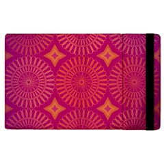Flower Wheel Chakra Mandala Modern Apple Ipad Pro 9 7   Flip Case by Simbadda