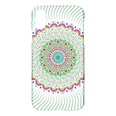 Flower Abstract Floral Apple Iphone X Hardshell Case by Simbadda