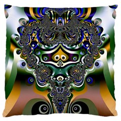 Fractal Art Artwork Design Pattern Large Cushion Case (two Sides)