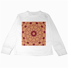 Abstract Art Abstract Background Pattern Kids Long Sleeve T Shirts